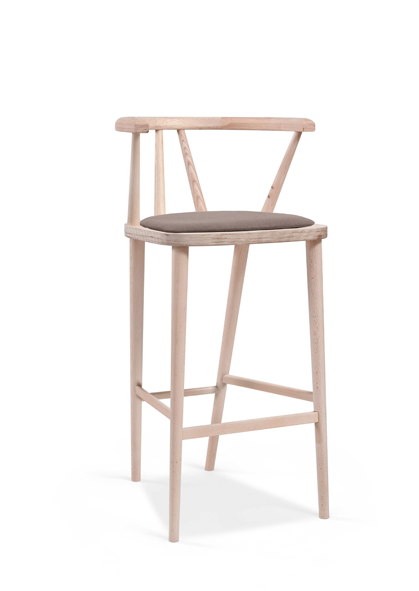 Retirement Dining Betty Barstool, with upholstered seat
