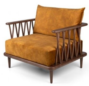 Retirement Living Lounge Natural Chair