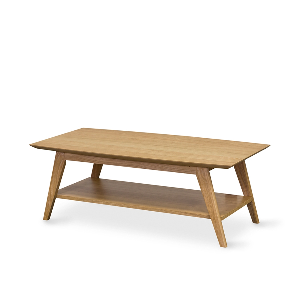 Aged Care Occasional Milan Rectangle Coffee Table, side view