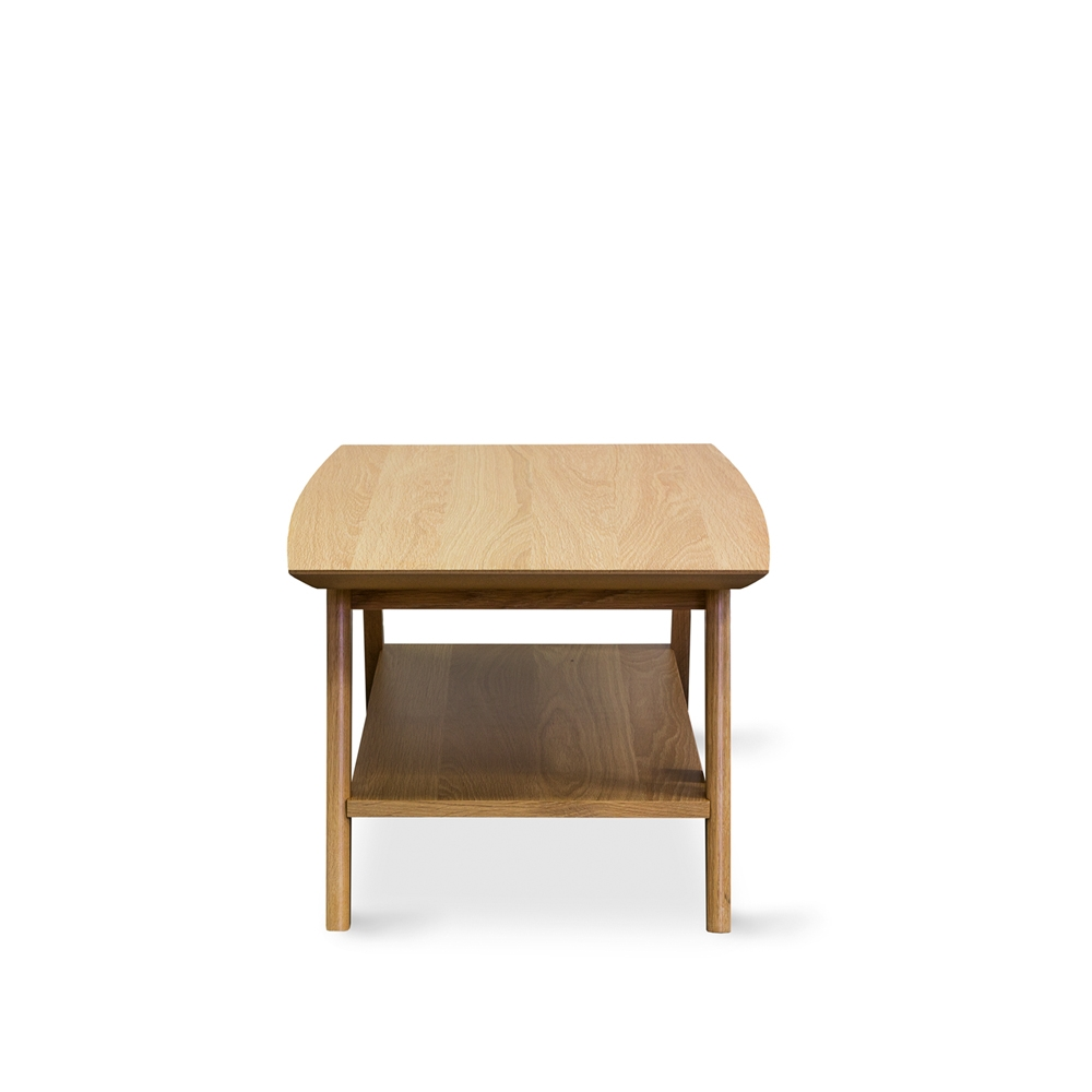 Aged Care Occasional Milan Rectangle Coffee Table, front view