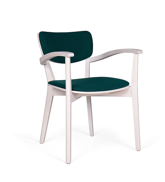 Aged Care Dining Myra Arm Chair, side view