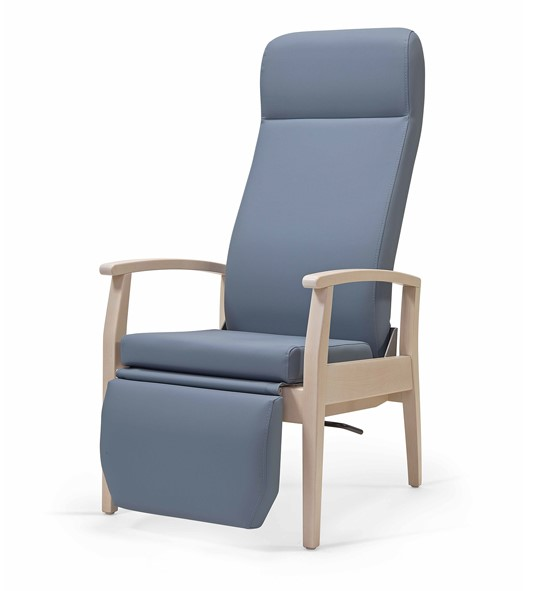 Aged Care Lounge Sage High Back Chair