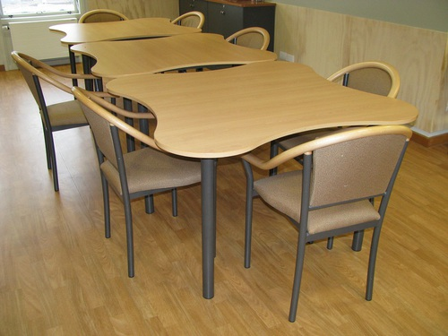 Dining Aged Care Clover Tables in Dining Room