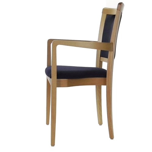 Dining Aged Care and Retirement Daisy Arm Chair Side View