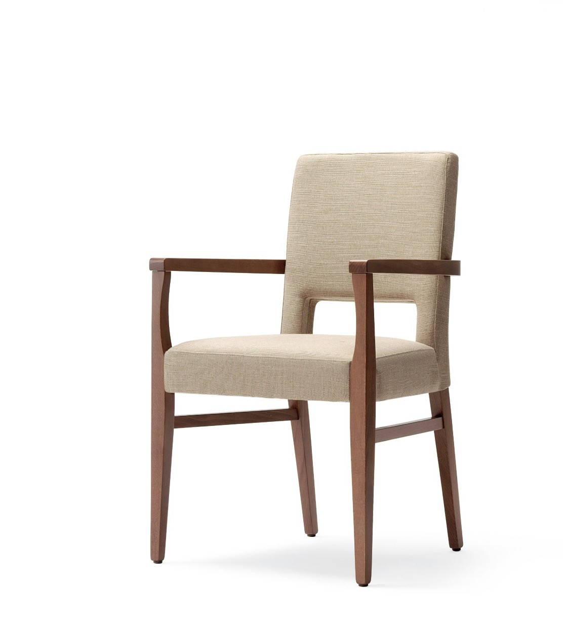 Aged Care Dining Milla Armchair, angle view