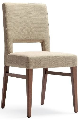 Aged Care Dining Milla Side Chair, angle view