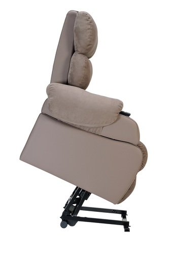 Agedcare and Retirement Patient Cocoon Lift Recliner Chair, lift position