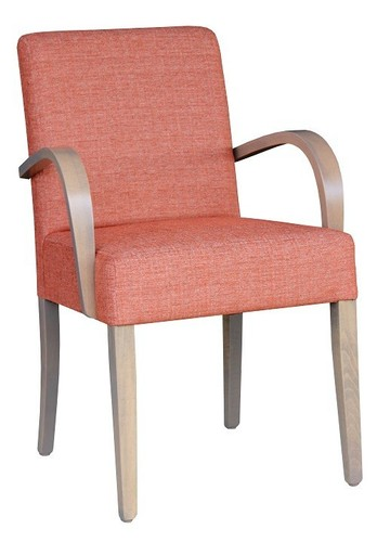 Dining and Occasional Davina Wooden Arm Chair Angled View