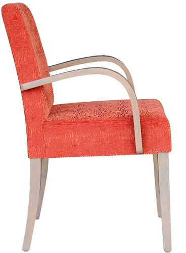 Dining and Occasional Davina Wooden Arm Chair Side View