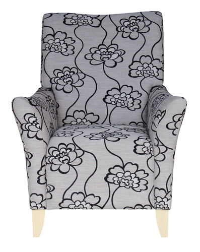 lounge Aged Care Accent Chair Front View