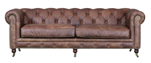 Lounge Retirement Chesterfield Sofa 3 Seater