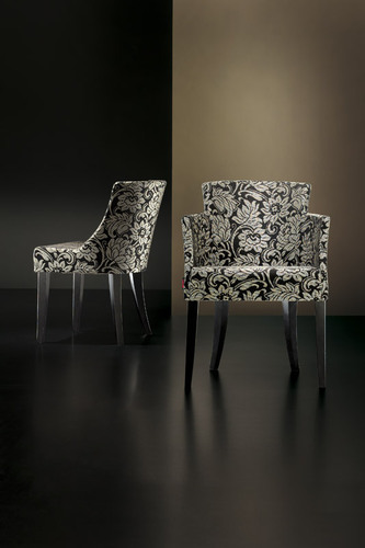 Retirement Dining Veronica Side Chair with arm Chair