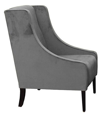 Retirement Lounge Zac Arm Chair Side View