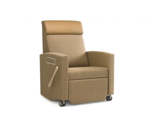 Seating Agedcare Herman Miller Consoul Recliner, beige fabric