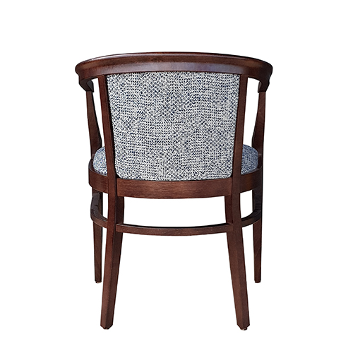 Aged Care Dining Rebecca Chair, back view