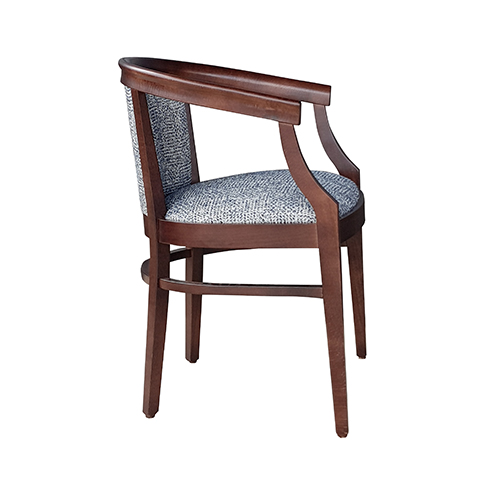 Aged Care Dining Rebecca Chair, side view