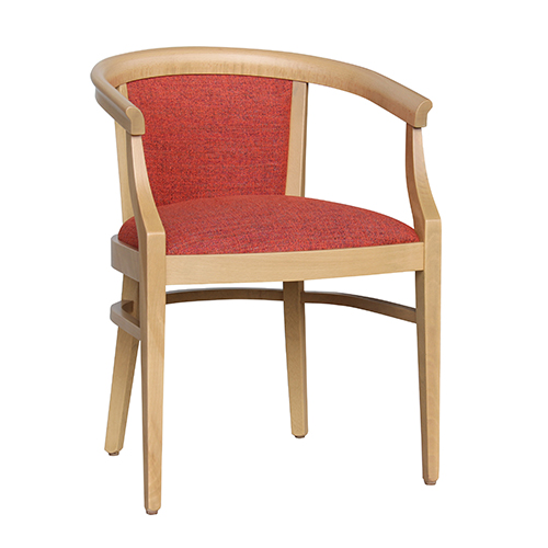 Aged Care Dining Rebecca Chair, angle view