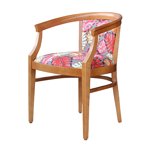 Aged Care Dining Rebecca Chair, natural, top view