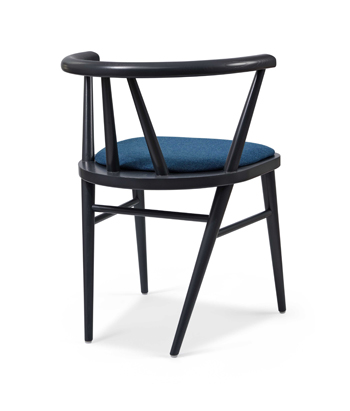 Hospitality Dining Betty Chair, back view