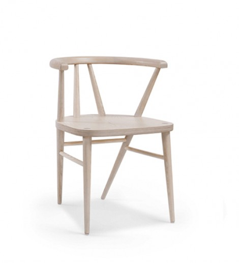 Hospitality Dining Betty Chair, with wooden seat