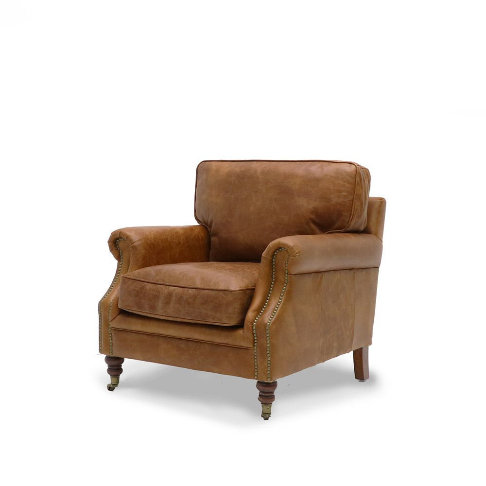 Hospitality Soft Seating Kingston Armchair, side view