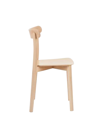Hospitality Dining Icho Chair, side view