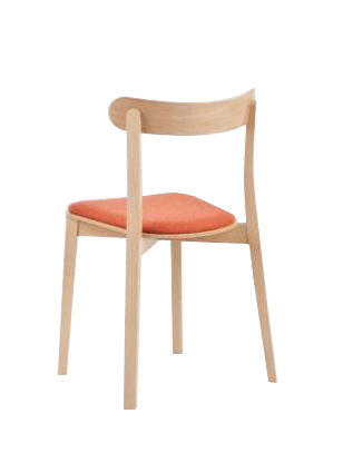 Hospitality Dining Icho Chair, back view