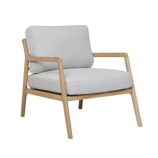 Hospitality soft seating Coco Armchair, angle view