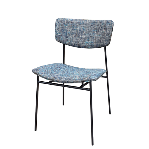 Hospitality Dining Finn Chair, side view