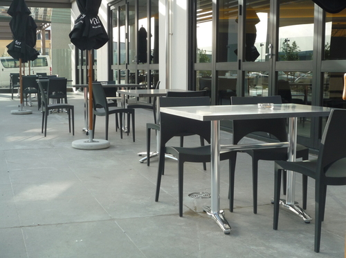 Dining Hospitality Advance Table Outdoor Setting