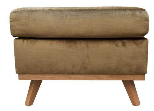 Soft Seating Hospitality Diego Footstool, front view