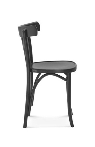 Hospitality Dining Fann Chair Side View