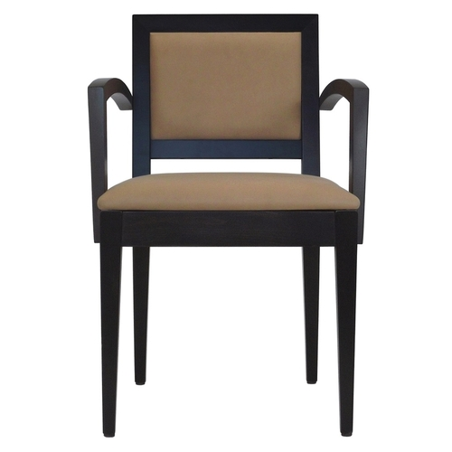 Hospitality Dining Tempo Arm Chair Front View