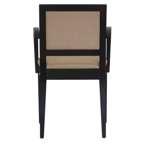 Hospitality Dining Tempo Arm Chair Back View