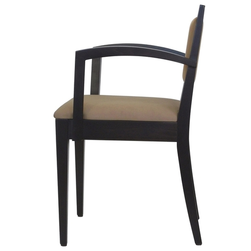 Hospitality Dining Tempo Arm Chair Side View