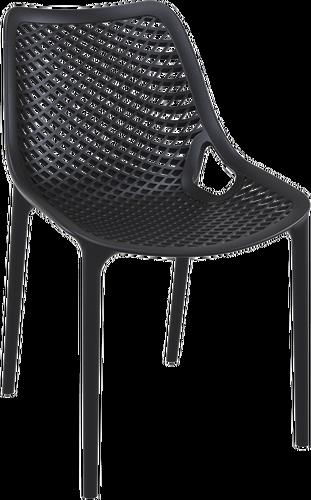 Hospitality Outdoor Air Chair Black
