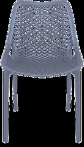 Hospitality Outdoor Air Chair Dark Grey