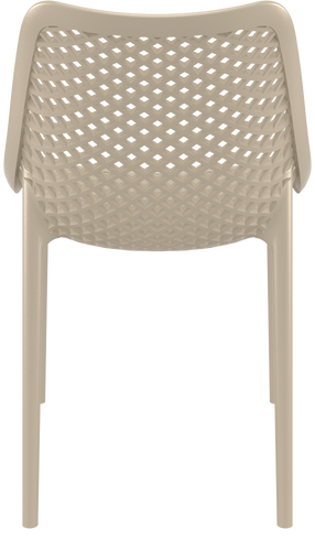 Hospitality Outdoor Air Chair Taupe