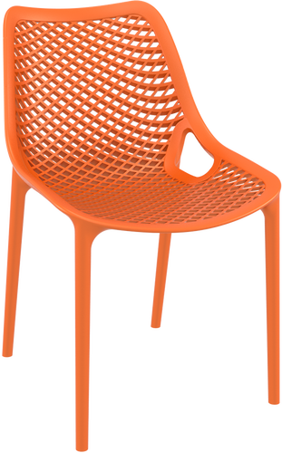 Hospitality Outdoor Air Chair Orange