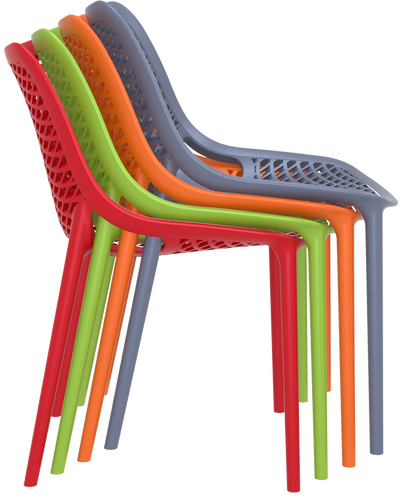 Hospitality Outdoor Air Chair Stack