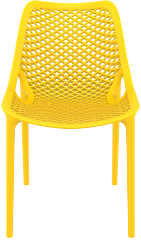 Hospitality Outdoor Air Chair Yellow