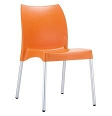 Hospitality Outdoor Vita Chair Orange
