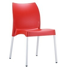 Hospitality Outdoor Vita Chair Red