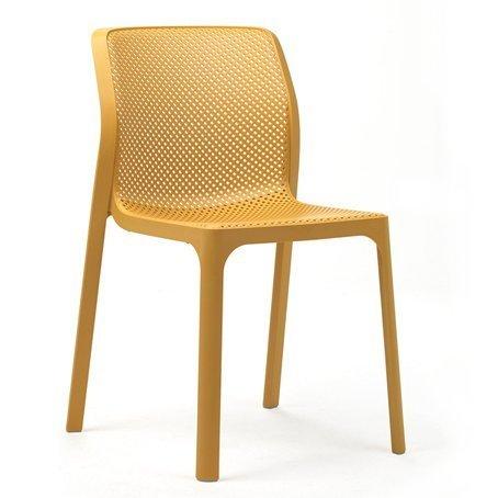 Hospitality Outdoor Bitta Chair Mustard