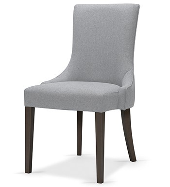 Hospitality Dining Sabien Chair, side view