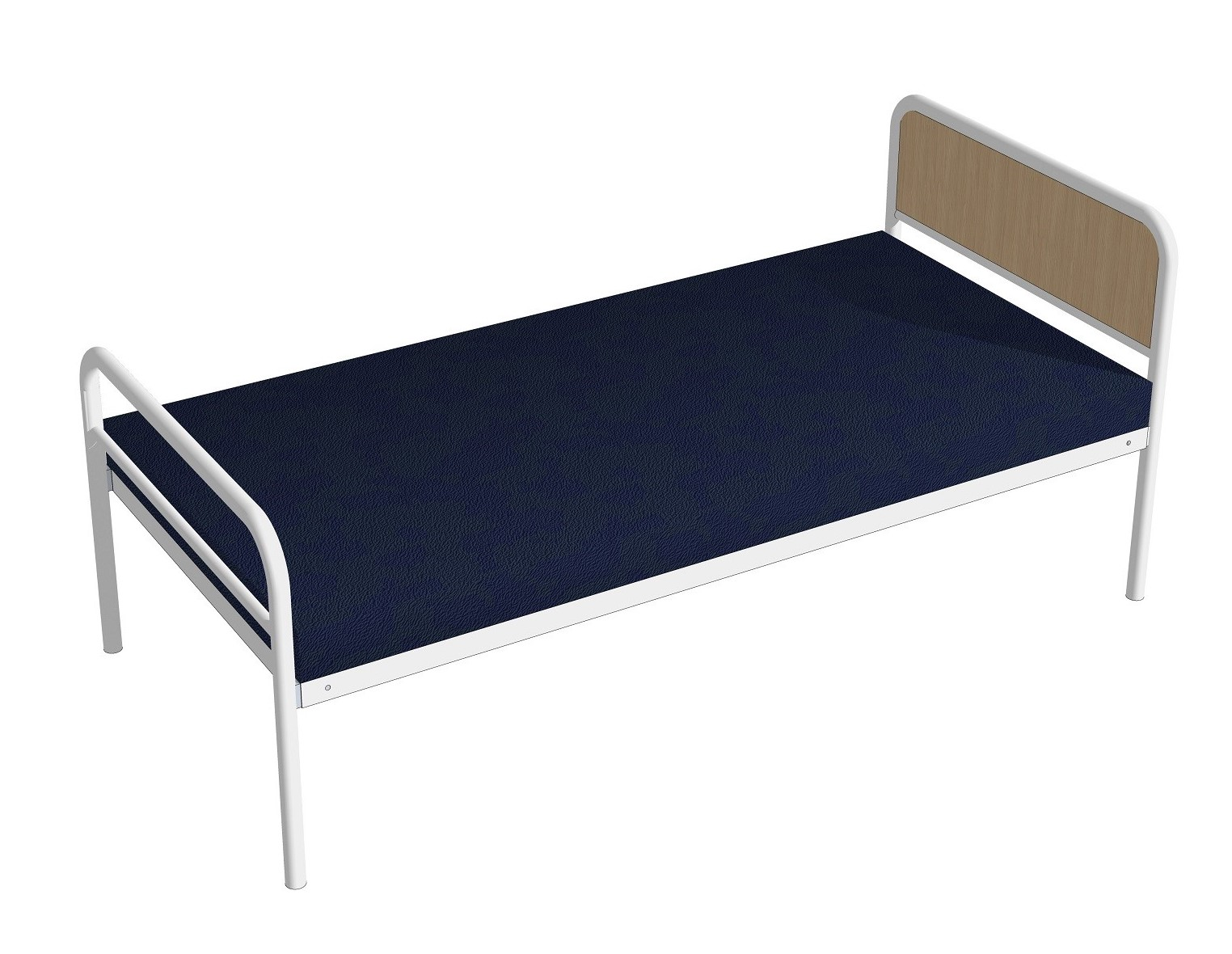 Medical Emergency Equipment Medistar Emergency Hospital Bed, with panel headboard, side view
