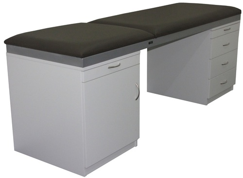 Medical Table ACM3-Medistar Plinth Fixed Height Treatment Table, side view