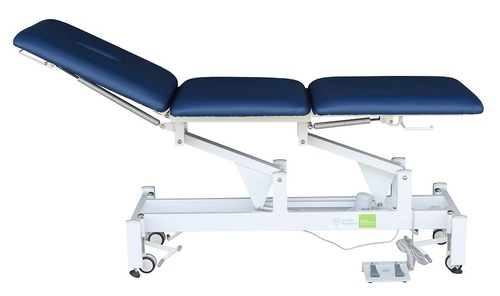 Treatment Tables Medical Medistar 3 Section Plinth, side view