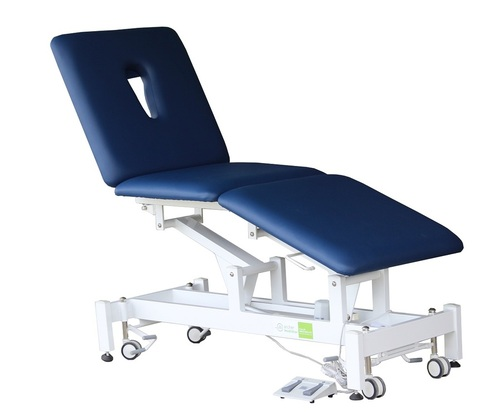 Treatment Tables Medical Medistar 3 Section Plinth, angle view