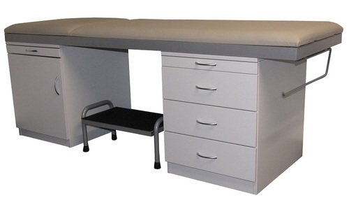 Medical Table ACM3-Medistar Plinth Fixed Height Treatment Table, with towel rail holder